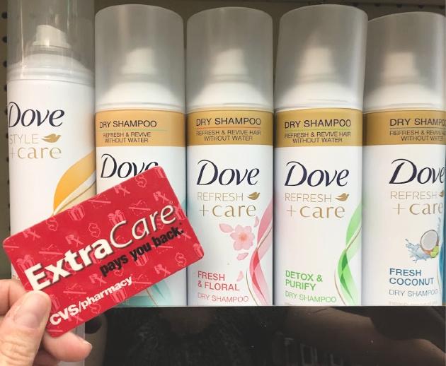 Dove Dry Shampoo at CVS
