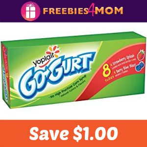 Coupon: Save $1.00 on Yoplait Go-GURT