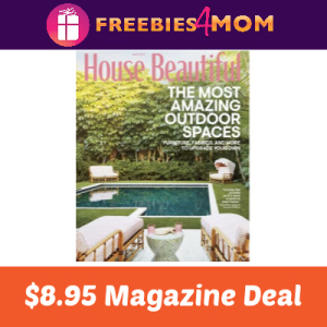 🏡House Beautiful Magazine $8.95