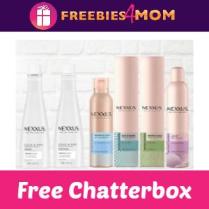 Free Nexxus Hair Care Target Chatterbox