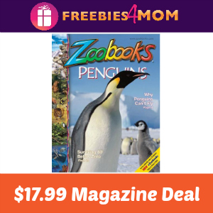 🐧Zoobooks Magazine $17.99