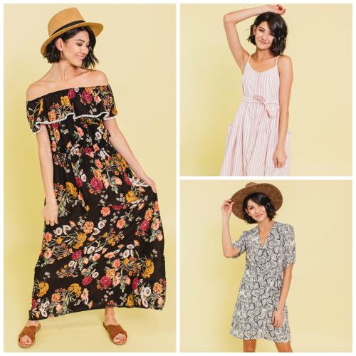 40% off Spring Dresses (Start at $15)