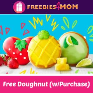 Free Fruit Doughnut at Krispy Kreme May 8