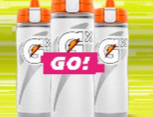 ⚡️Sweeps Gatorade Custom GX Bottle (50 daily winners)