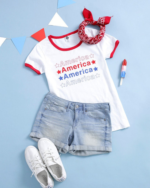 4th of July Graphic Tees $16.95