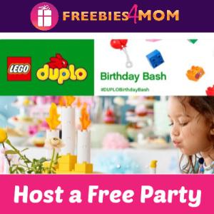 Free Lego Duplo Birthday Bash House Party