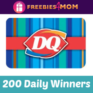 Sweeps Dairy Queen The hAPPiest Sweeps Ever