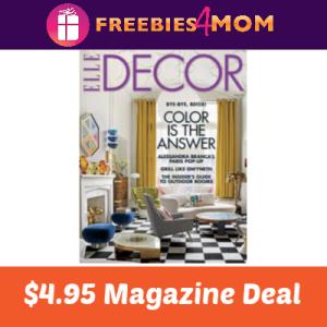 🎨Elle Decor Magazine $4.95