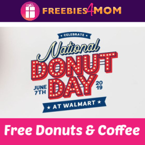 Free Donuts & Coffee at Walmart June 7