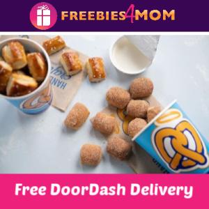 Free Auntie Anne's DoorDash Delivery June 7-9