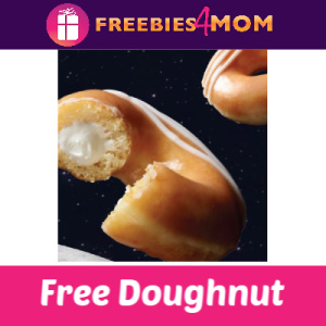 Free Krispy Kreme Original Filled Doughnut June 22
