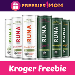 Free Runa Clean Energy Drink at Kroger