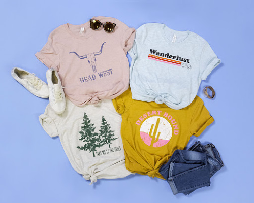 Outdoor Graphic Tees $16.95