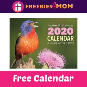 Free Cornell Lab 2020 Bird Calendar