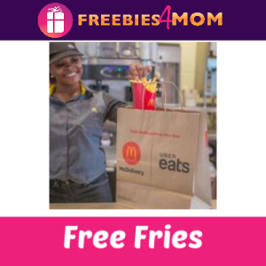 Free McDonald's Fries w/Uber Eats (Houston)