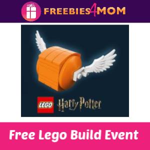 Free Lego Harry Potter Build at Barnes & Noble