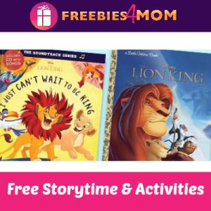 Barnes & Noble Lion King Storytime 7/13