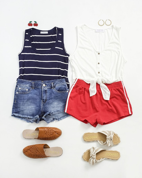 BOGO Tanks & Shorts at Cents of Style