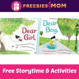Free Dear Girl, & Dear Boy, Storytime