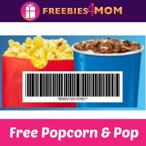 Free Jr. Popcorn & Drink at Marcus Theaters