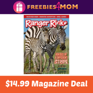 Magazine Deal: Ranger Rick $14.99