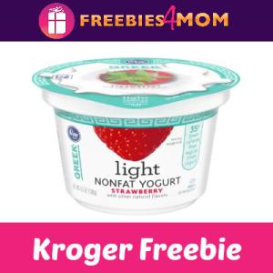Free Kroger Greek Yogurt