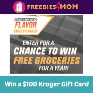 Sweeps Kroger Fast Lane to Flavor