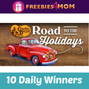 Sweeps Cracker Barrel Road to the Holidays