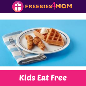 Kids Eat Free at IHOP 4-10 PM (thru 11/3)