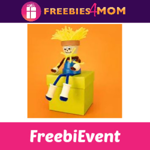 Free Clay Pot Scarecrow Craft at Michaels 9/28