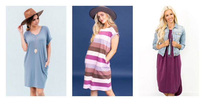 $19.95 T-shirt Dresses ($39.95 Value)