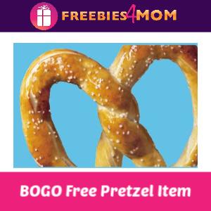 BOGO Free at Wetzel's Pretzels