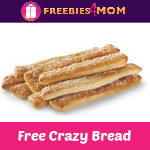 Free Crazy Bread w/Purchase at Little Caesars