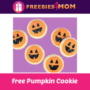 Free Pumpkin Cookie Decorating at Michaels 10/12