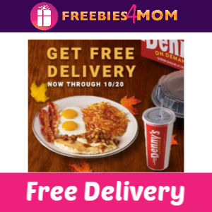 Free Delivery at Denny's (thru 10/20)