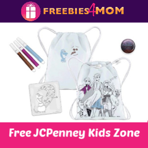 JCPenney Kid Zone Free Activities 11/9
