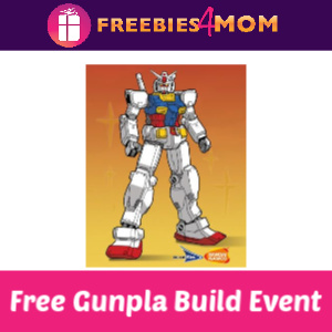 Free Gunpla Build Event at Barnes & Noble