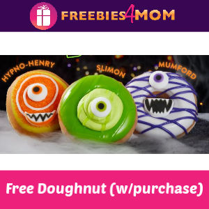 Free Doughnut at Krispy Kreme Oct. 8