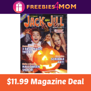 💧Jack & Jill Kids Magazine $11.99