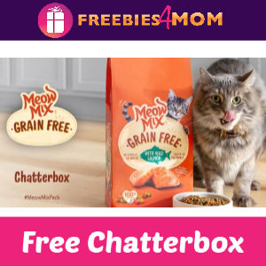 Free Meow Mix Grain Free Cat Food Chatterbox