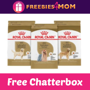 Free Royal Canin Nutrition Chatterbox