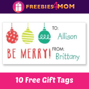 Free Set of 10 Gift Tags at Walgreens (10/31 ONLY)