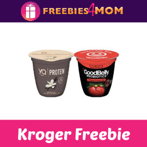 Free YQ or Goodbelly Yogurt at Kroger
