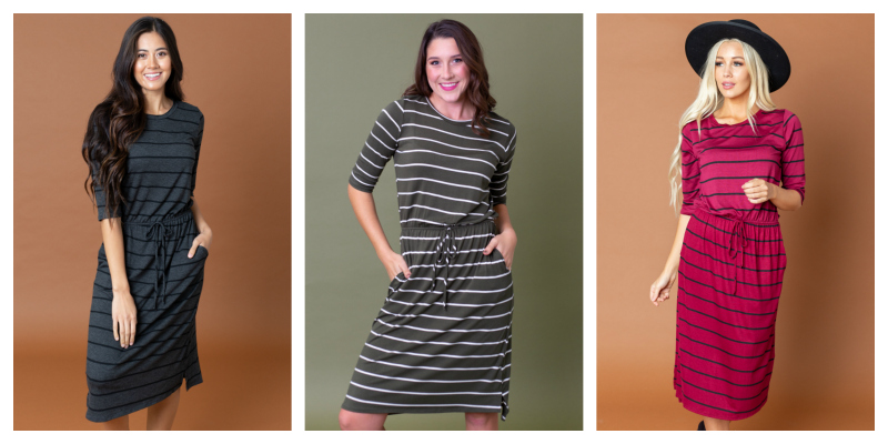 Vanessa Dress w/Pockets $24.95 ($44.95 Value)