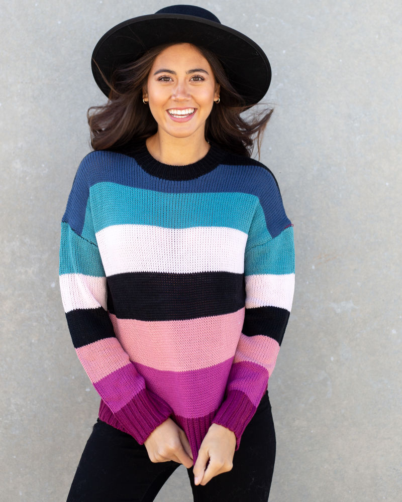 Striped Sweater Only $15 ($39.95 Value)