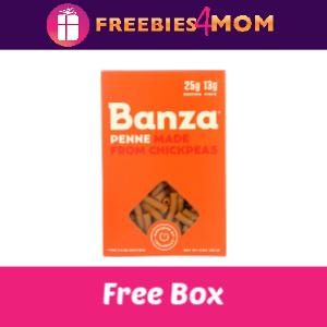 Free Box Banza Chickpea Pasta