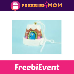 Free Gingerbread House Bell at Michaels 12/7