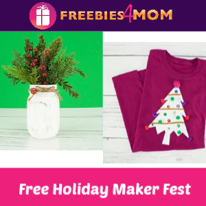 Holiday Maker Fest at Michaels 11/23
