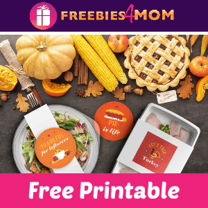 Free Thanksgiving Leftovers Printable