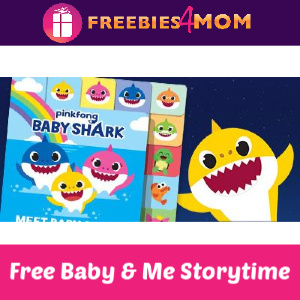 Free Baby Shark Storytime & Free Starbucks 12/1